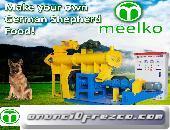 Extrucsora Meelko para pellets alimentacion perros MKED080B