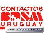 CONTACTOS SPANKERS EN URUGUAY