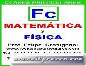 Clases Particulares Matematica y Fisica Academia FC Maldonado 099283562