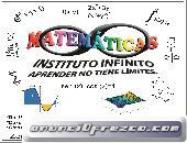 Clases particulares de Matematicas, Calculo, Algebra...