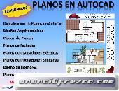 Planos en Autocad, arquitectos ,ingenieros, proyectos arquitectura, estructuras, instalaciones sanit