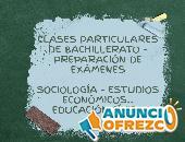 Apoyo escolar - clases particulares de bachillerato
